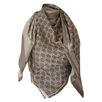 Gucci Guccissima-cloth in brown