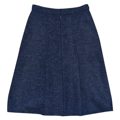 Acne  Dark blue skirt