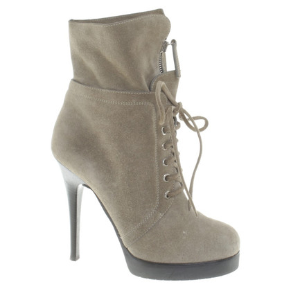 Giuseppe Zanotti Ankle boots in olive green