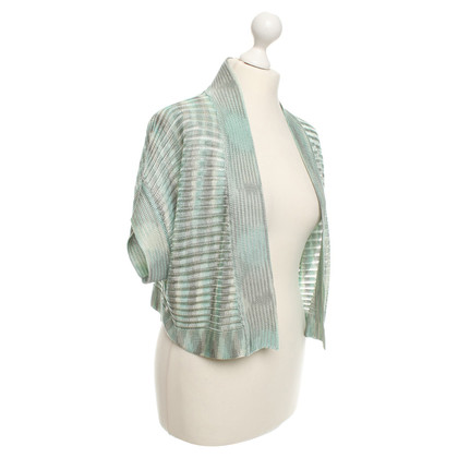 Missoni Short sleeve cardigan in green