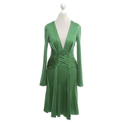 Issa Seidenkleid in Grün