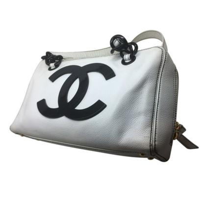 Chanel Lederen handtas met CC-logo
