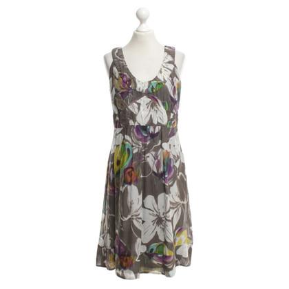 Luisa Cerano Kleid mit floralem Print