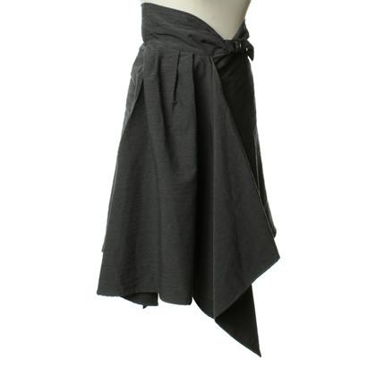 Yohji Yamamoto Wollen rok in grijs