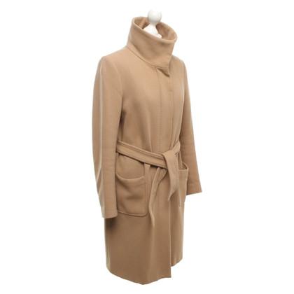 Filippa K Wollen jas in Camel