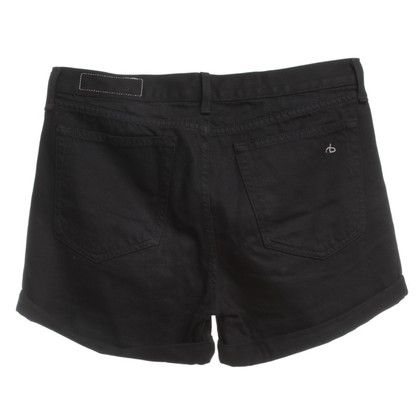 Rag & Bone Jean Shorts in Black