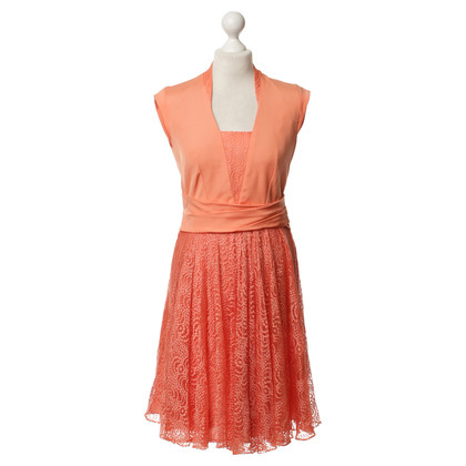Reiss Kleid in Korallrot