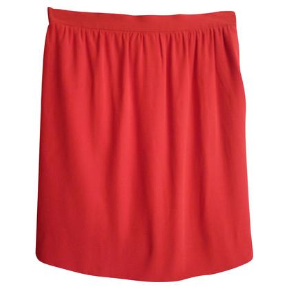 Yves Saint Laurent Red vintage skirt