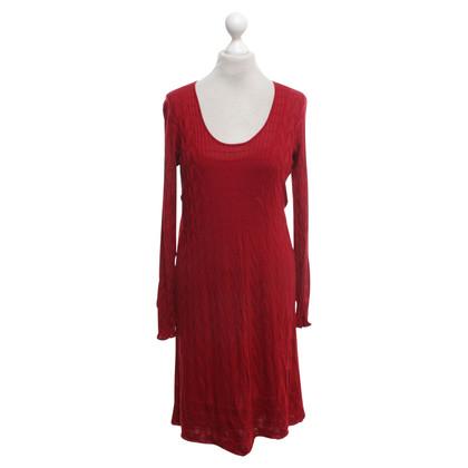 Missoni Knitted dress in orange