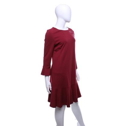 Pinko Vestito di rosso scuro