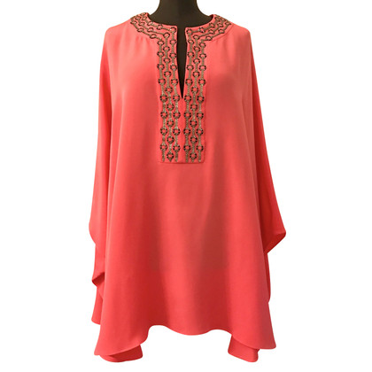 Emilio Pucci Tunique top en soie rose