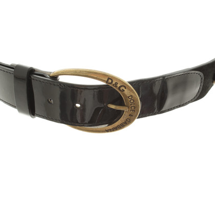 Dolce & Gabbana Belt with metal applications