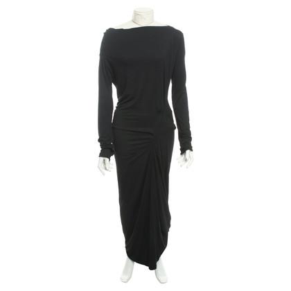 Vivienne Westwood Jersey-Kleid in Schwarz