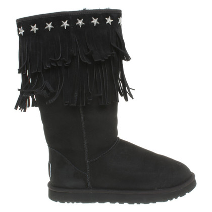 UGG & Jimmy Choo Boots in black