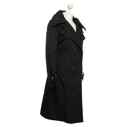 Basler Trenchcoat in Schwarz