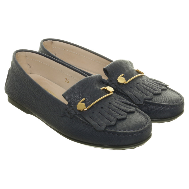 Tod's Loafer in dark blue