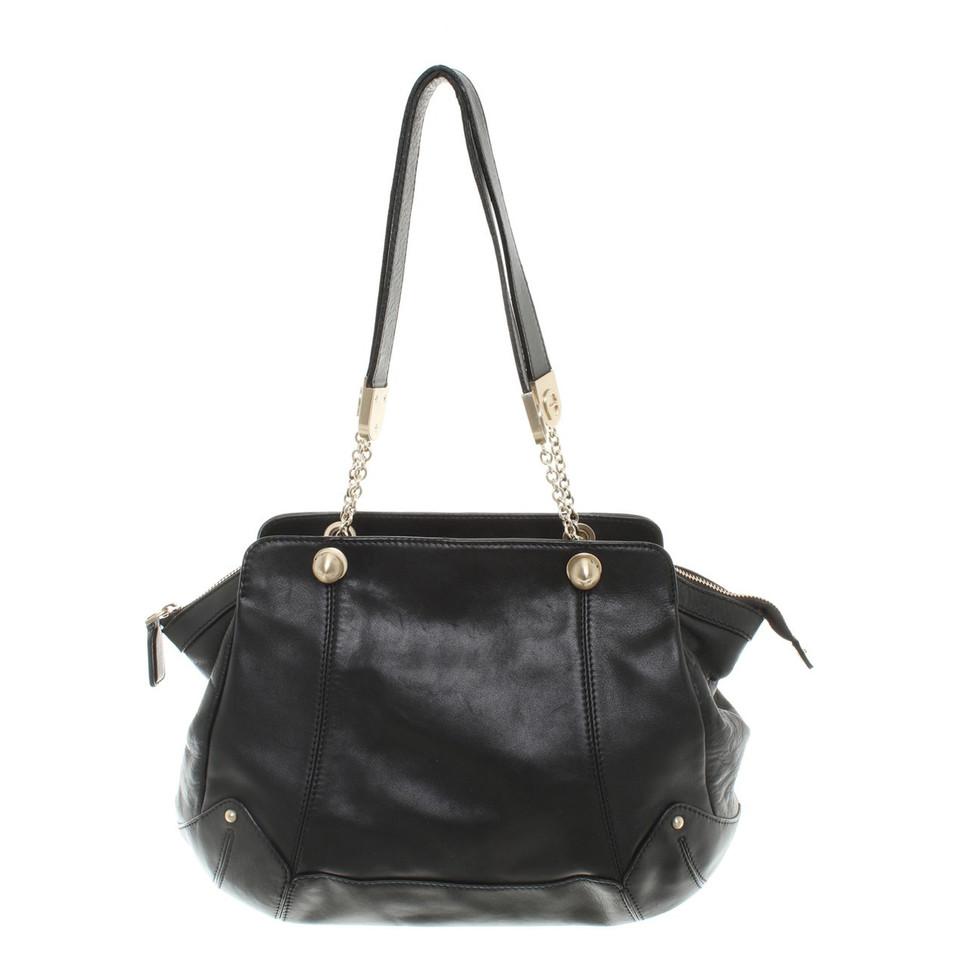 aigner handtasche in schwarz second hand aigner handtasche in schwarz gebraucht kaufen f r 189. Black Bedroom Furniture Sets. Home Design Ideas