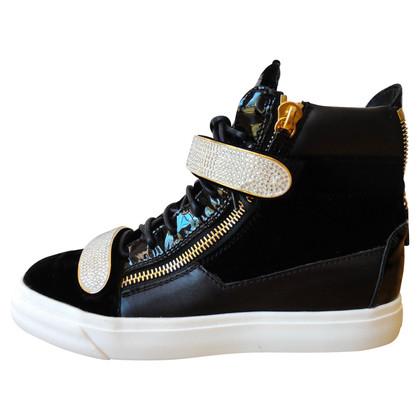 Giuseppe Zanotti Swarovski sneakers