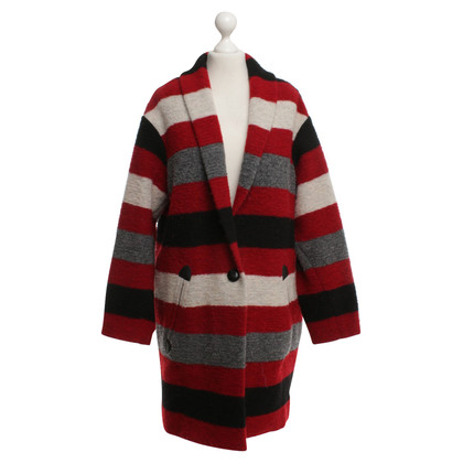 Isabel Marant Etoile Striped coat in color
