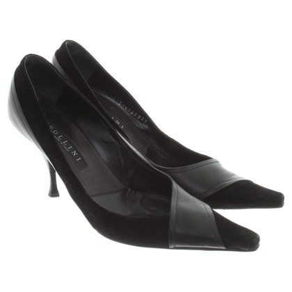 Pollini pumps in zwart