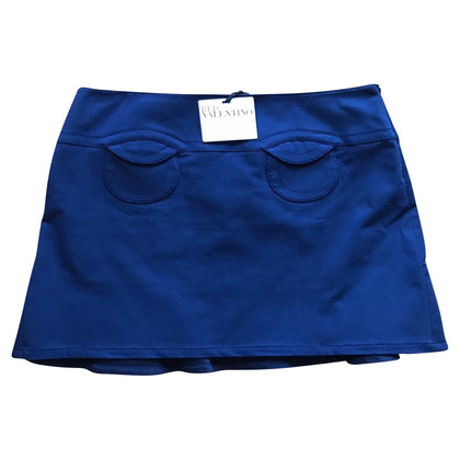 Red Valentino Blue mini skirt
