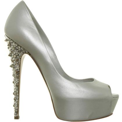 Casadei Peep-dita dei piedi con le vendite di gioielli