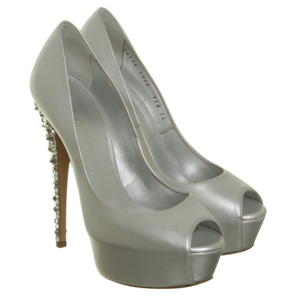 Casadei Peep-toes with jewelry sales