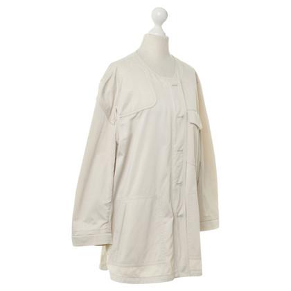 Dries van Noten Coat in light beige