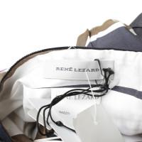 René Lezard Gestreepte ensemble