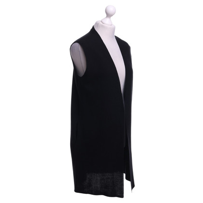 Drykorn Knitted vest in black