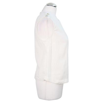 Hobbs Linen top in white
