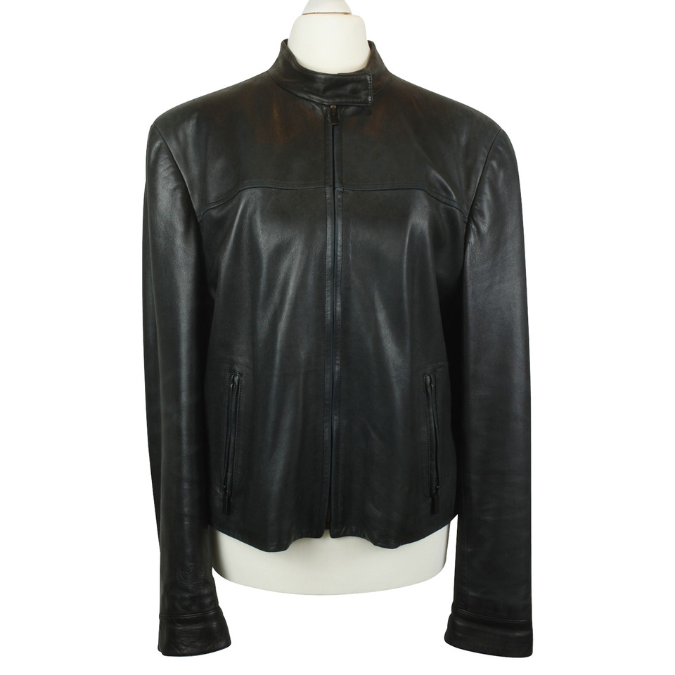 Fratelli Rossetti leather jacket