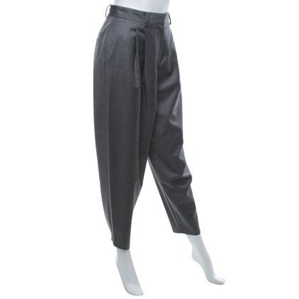 Christian Dior trousers in grey / white