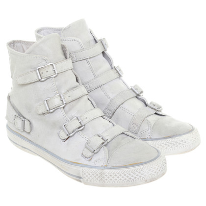 Ash High-top sneaker with buckle details