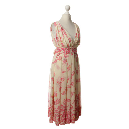 Temperley London Silk dress with pattern