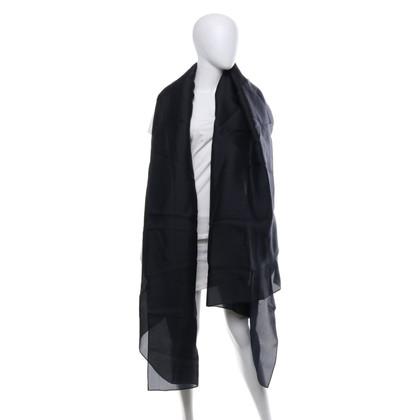 Rena Lange Black silk stole