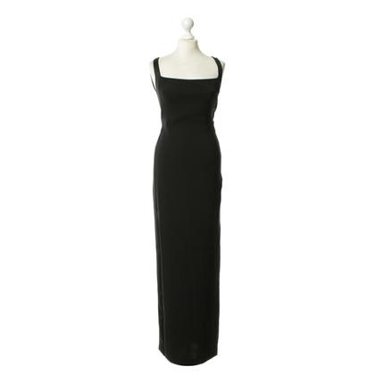 Gucci Langes Kleid in Schwarz