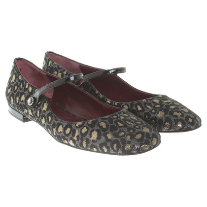 Marc by Marc Jacobs Ballerinas mit Leopardenmuster