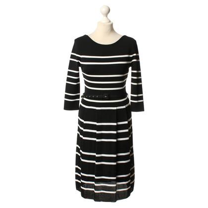 Christian Dior Gebreide jurk streep