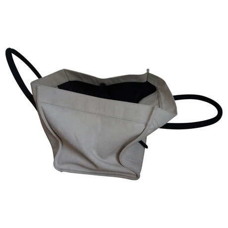 Verkauf Besten Großhandels Steckdose Kostengünstig Céline Luggage Bag Schwarz / Weiß sVDCS