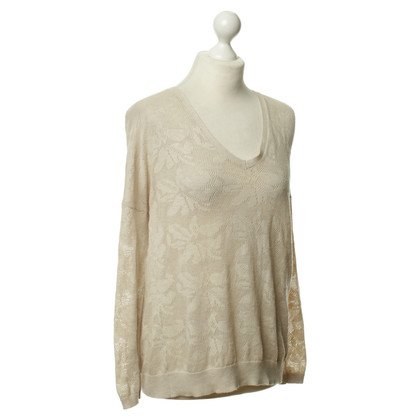 Sandro Sweater with lace pattern