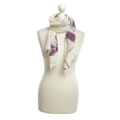 Friendly Hunting Cashmere scarf with print