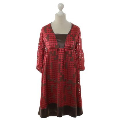 Schumacher Dress with silk trim