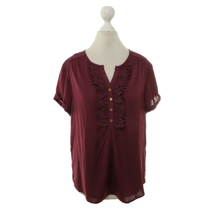 Maison Scotch Blouse with Ruffles