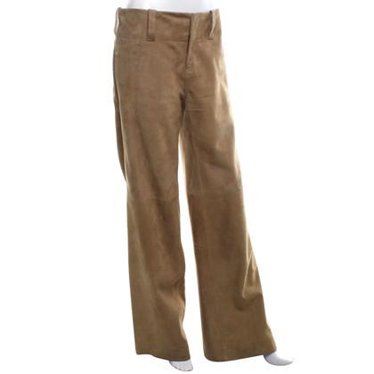 Ralph Lauren Leather pants in beige