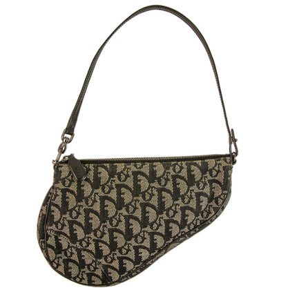 Christian Dior Blue Mini Saddle Handbag