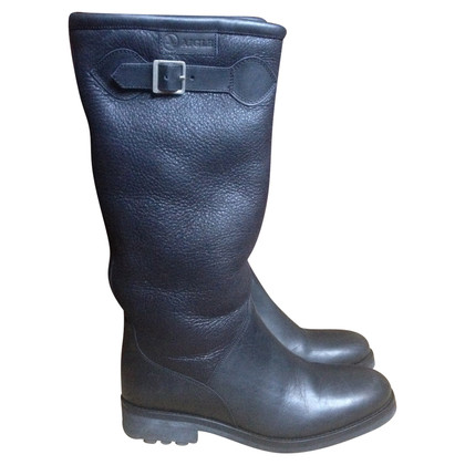 Aigle Boots with lambskin