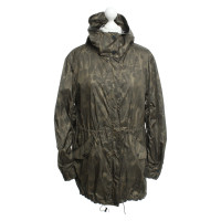 Sandro Jacket with olive pattern