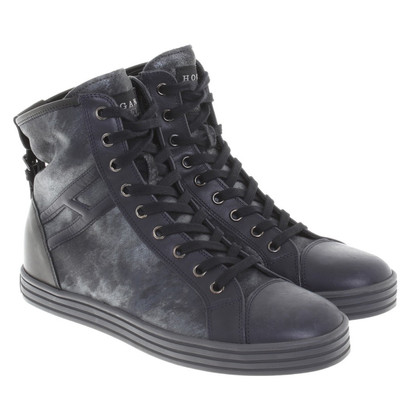 Hogan Sneakers with wedge heel