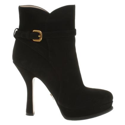 Prada zwarte laarzen